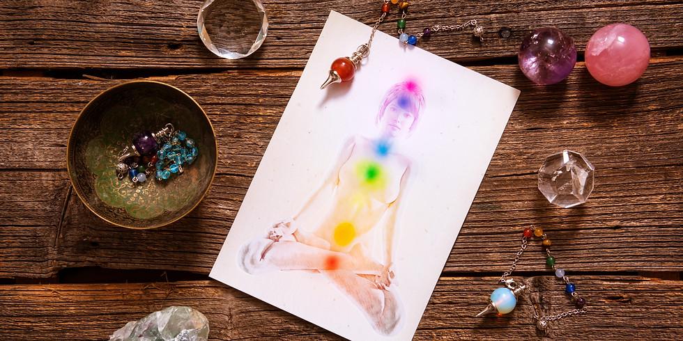 Chakra Crystal Healing-  Earth Star & Soul Star