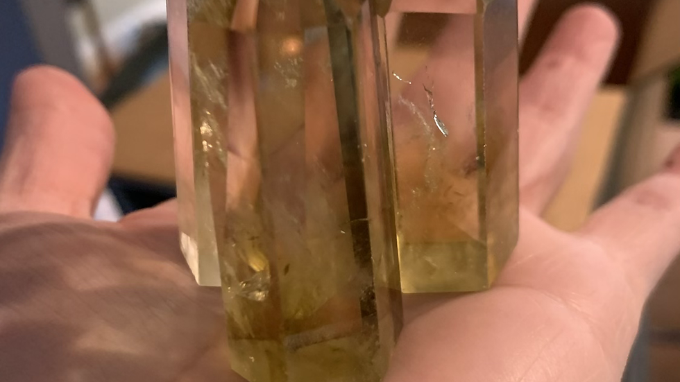 Lemon Quartz Tower