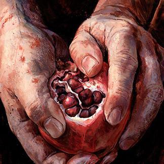 'Pomegranite Heart'