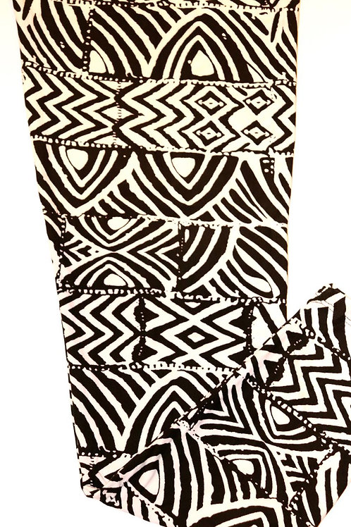 Luscious Black & White Tribal