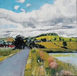The Bow Road 60x60