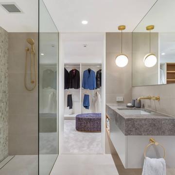 North shore bathroom renovation castlecrag