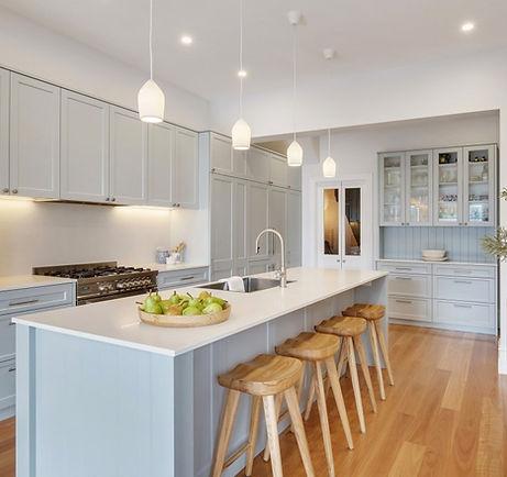 Contemporary kitchen design shaker doors