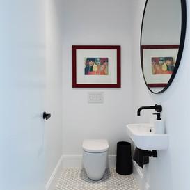 Beautiful powder room on Sydney's North Shore