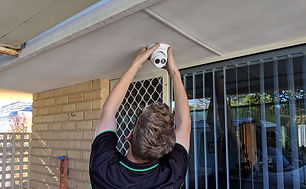 perth electrician security system instal