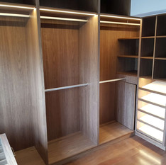 walk in wardrobe northern beaches joiner