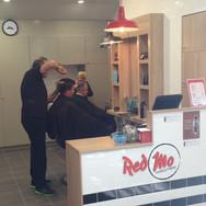 Hairdresser fitout shopfitting brisbane