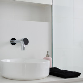 Details in our North Shore bathroom renovation