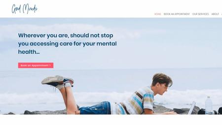 Psychologist website - Good Minds