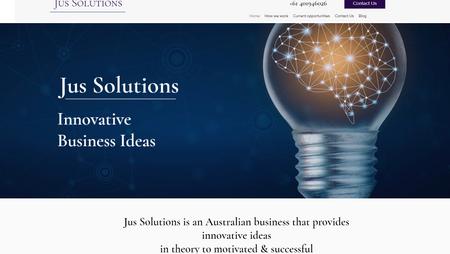 professional consultant website - Jus So