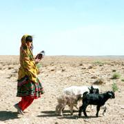 Nomad girl, Afghanistan