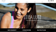 fix my wix website - Leila Lutz coach .p