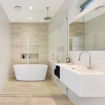 complete bathroom renovation castlecrag