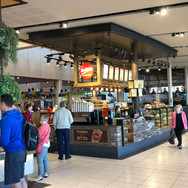 Shopfitting Brisbane cafe fit out Mrs Fields airport