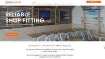 shopfitting website by tradie website sp