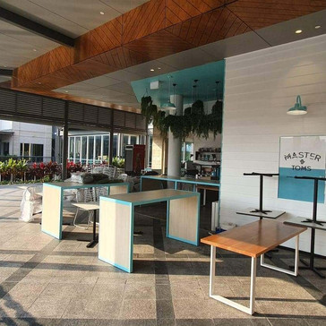 restaurant fitout brisbane by cert enter