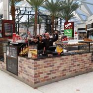 Mrs Fields cafe shopfitting Brisbane