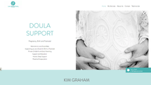 website redesign for a Northern Beaches Doula