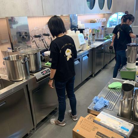 Tea shop fitout - Gotcha Tea Sunnybank H
