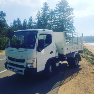 our rubbish removal truck