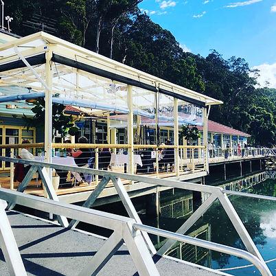 waterfront cafe & restaurant Bobbin Head