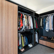 dressing room joinery ideas by WD Interi