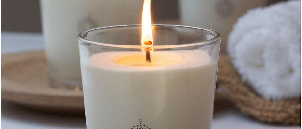 Rose & Lemongrass Calming Candle