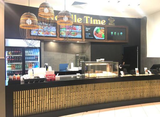 Hospitality Shop Fit out Brisbane – Noodle Time – Queens Plaza