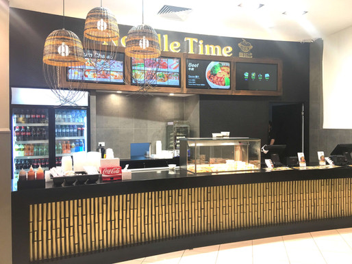 Hospitality Shop Fit out Brisbane – Noodle Time – Queens Plaza