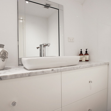Bathroom renovation Northern beaches_man