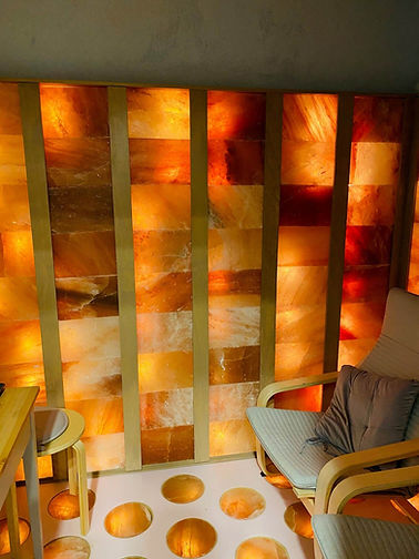 salt room therapy shop fit out & constru