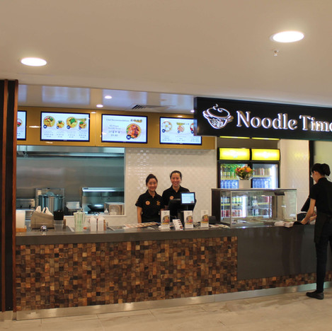 Noodle Time sushi shop fit out Brisbane1