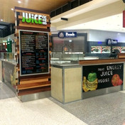 shopfitting brisbane kiosk fitout Juice