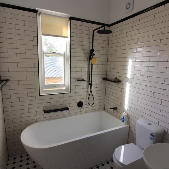 Classic heritage style bathroom renovation