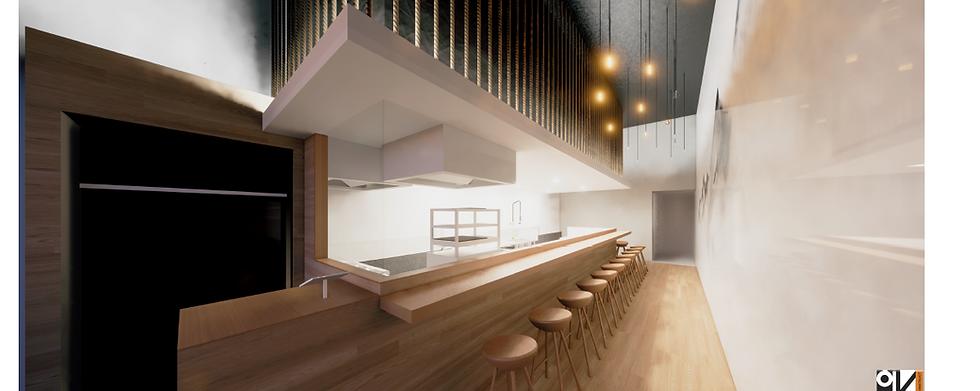 Sushi shop fit outs- design & concepts (