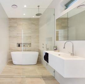 Classic designed bathroom renovation