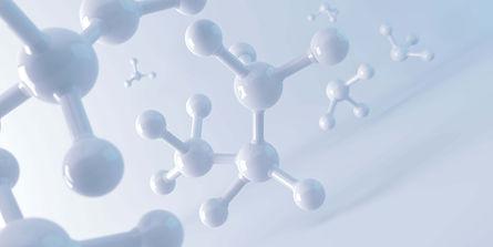 white-molecule-atom-abstract-clean-struc