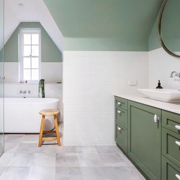 bathroom renovation vanity & joinery by