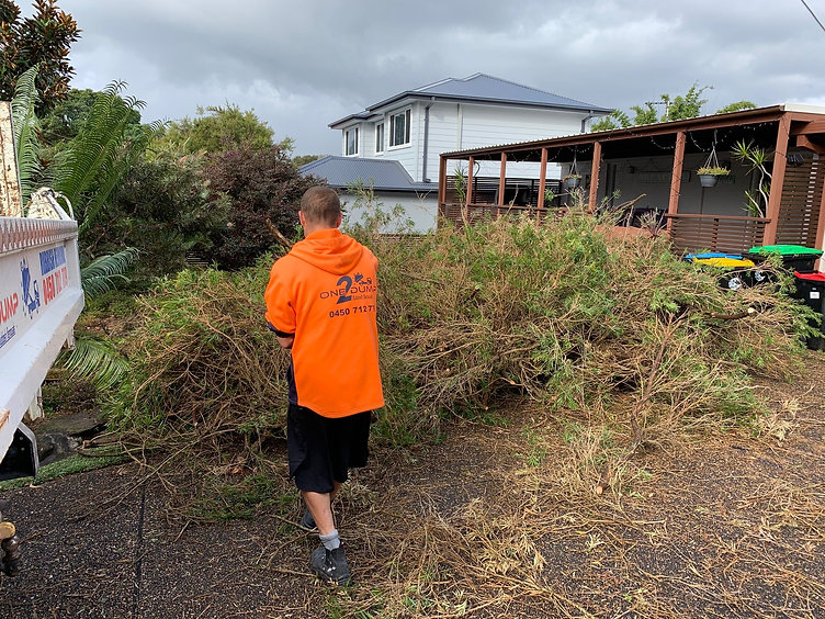 green waste removal northern beaches by