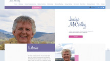 health & wellness website - Janine McCarthy