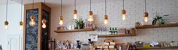shop fitter brisbane cafe hanging lights