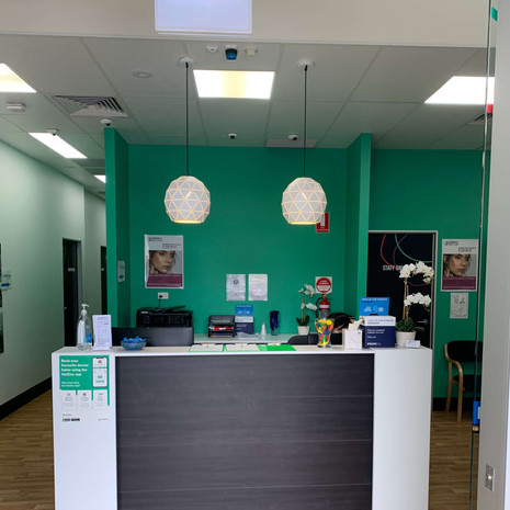 Shopfitting Brisbane - medical centre To