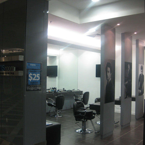Mens Room Salon shop fit out Brisbane.JP