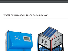 Featured in the Water Desalination Report