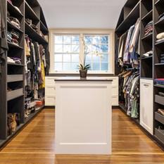 walk in robe & dressing room renovation