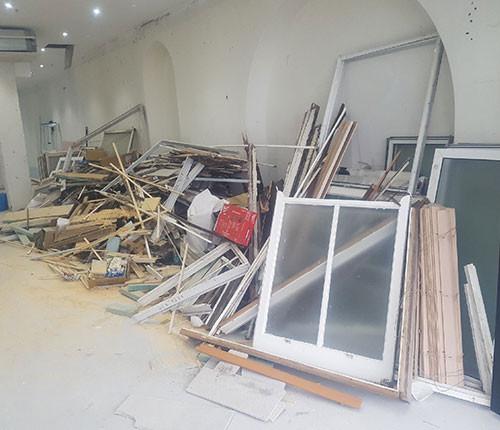 building waste
