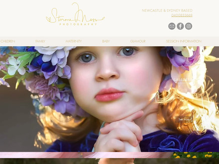 finish my website Storme Moss Photography