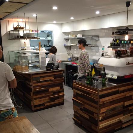 shop fit outs - cafe fitout Kirribilli (