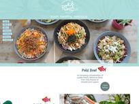 Poke Bowl Australia - multi page site