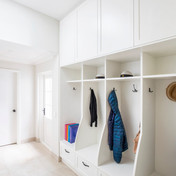 mud room joinery north shore renovation